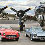 Corvette Club 01 Poster