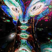 Cosmic Smurf Poster