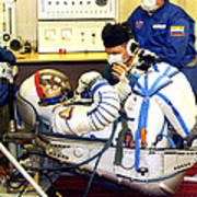 Cosmonaut Training, Soyuz Tma-8 Crew Poster