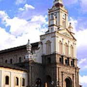 Cotacachi Cathedral Poster