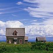 Cottage At Bay Of Chaleur Poster