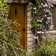 Cottage At Castle Combe Poster