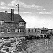 Cottage Park Yacht Club 1902 Poster by Extrospection Art