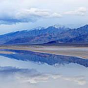 Cottonball Basin Death Valley Poster