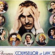 Counsellor At Law, Center John Poster