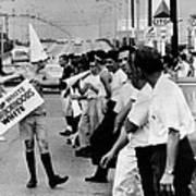 Counter Demonstrators Against Open Poster by Everett