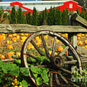 Country Fence Poster