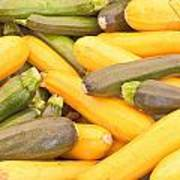 Courgettes Poster