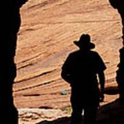 Cowboy Caveman Poster