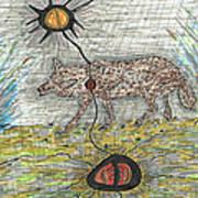 Coyote Spirituality Poster
