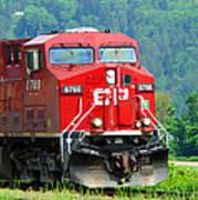 Cp Coal Train Poster