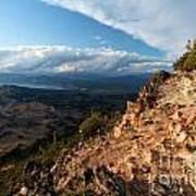 Crater Lake Mountains Poster