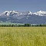 Crazy Mountain Range Poster