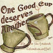 Cream Coffee 2 Poster