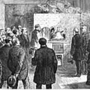 Cremation, 1876 Poster