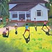 Cricket Poster by Andrew Macara