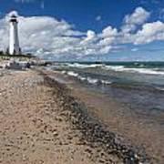 Crisp Point Lighthouse 13 Poster