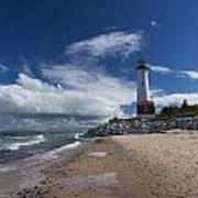 Crisp Point Lighthouse 6 Poster