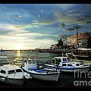 Croatia Istrien Poster