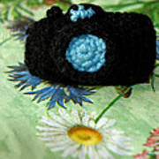 Crochet Camera Color Poster