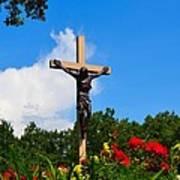 Crucifix In Indian River Poster