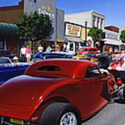 Cruising Main Street Poster
