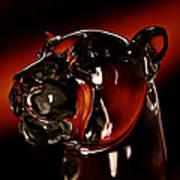 Crystal Cougar Head II Poster