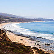 Crystal Cove Orange County California Poster