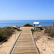 Crystal Cove State Park Ocean Overlook Poster
