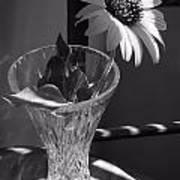 Crystal Sunflower Poster