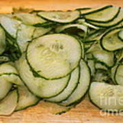 Cucumbers Poster