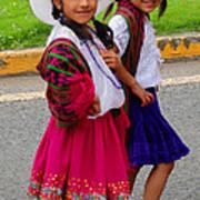 Cuenca Kids 58 Poster by Al Bourassa