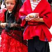 Cuenca Kids 78 Poster by Al Bourassa