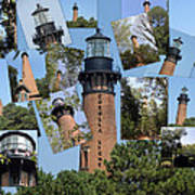 Currituck Beach Light House Station Nc Usa Poster