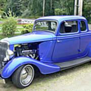 Custom 34 Ford Poster