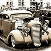 Custom 36 Dodge Poster
