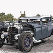 Custom Model A Coupe Poster
