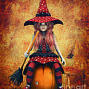 Cutest Little Witch Poster