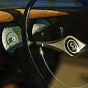 Daimler Steering Wheel Poster
