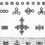 Daltons Symbols Poster