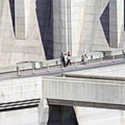 Dam Tourists Poster