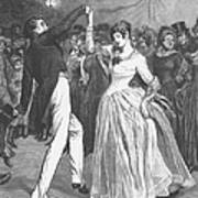 Dance, 19th Century Poster by Granger