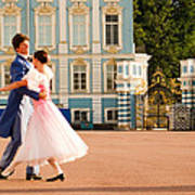 Dance At Saint Catherine Palace Poster