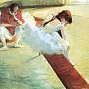 Dancers Resting Poster
