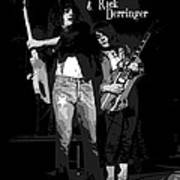 D J And R D In Spokane 1977 Poster