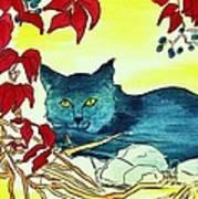 Dark Cat Poster