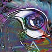 Dark Side Eye Poster