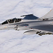 Dassault Rafale B Of The French Air Poster