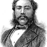 David Kalakaua (1836-1891) Poster by Granger