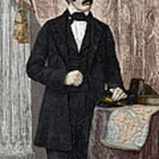 David Livingstone, Scottish Missionary Poster